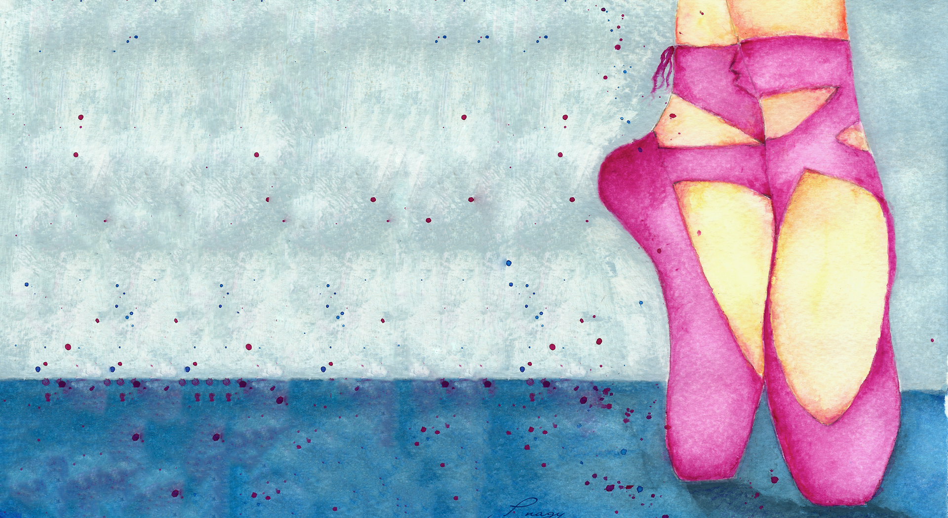Ballet Shoes - A New year's Message